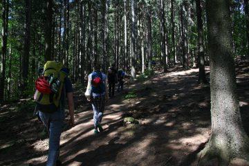 žygis į krkonošo nacionalinį parką