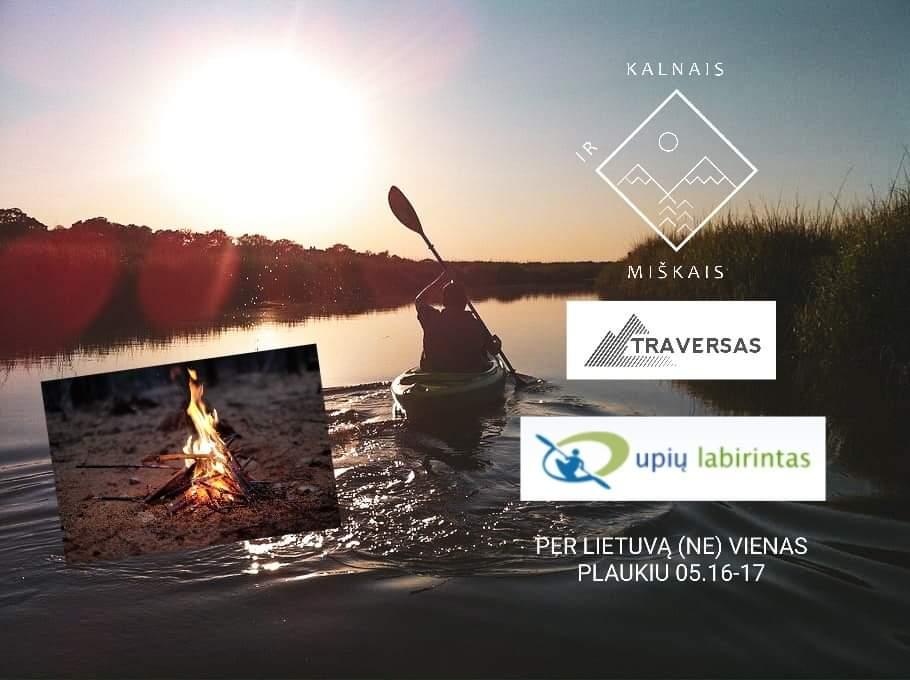 Žygis Lietuvoje pėsčiomis ir baidarėmis